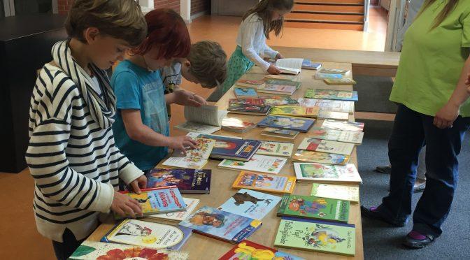 Unser Büchertausch