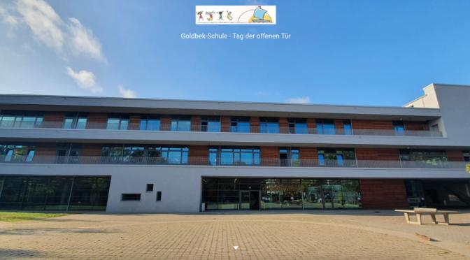 Virtueller Tag der offenen Tür an der Goldbek-Schule